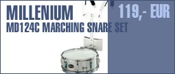 Millenium MD124C Marching Snare Set