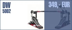 DW 5002 Double Pedal