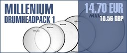 Millenium Drumheadpack 1