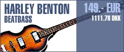 Harley Benton Beatbass VS Vintage Series