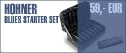 Hohner Blues Starter Set