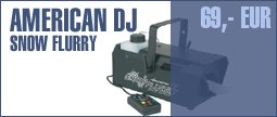 American DJ Snow Flurry