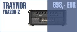 Traynor YBA200-2 Bass Head