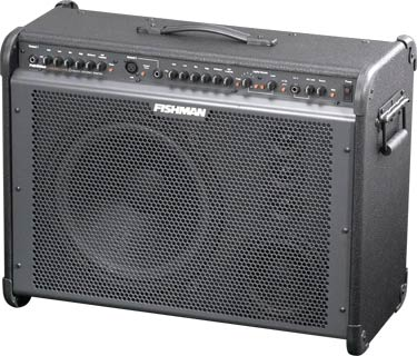 acoustic amp with Multi-Way Speakers