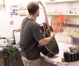 Godin Guitar Production