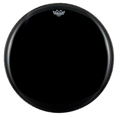 "Remo 22"" Powerstroke 3 Ebony Bass Drum Fell"