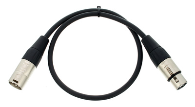 Cordial CFM 0,5 FM Patchkabel (schwarz)