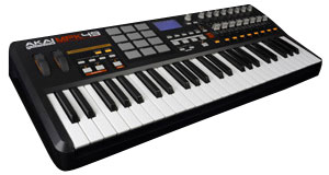 Akai Mpk 49 USB/MIDI-Controllerkeyboard