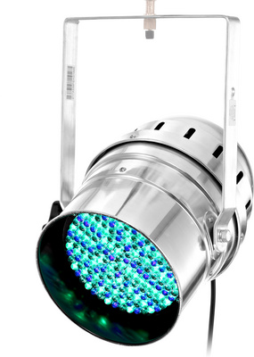 Stairville LED PAR 64 10 MM Silver RGB