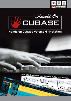 DVD Lernkurs Tutorial Hands On Cubase Vol.4