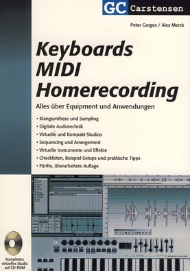 GC Carstensen Verlag Keyboards, Midi, Homerecording