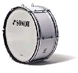 Sonor MB 2410 CW Marching Bass Drum