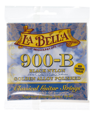La Bella 900B black Nylon