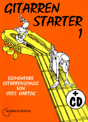 Cees Hartog Gitarrenstarter Band 1 mit CD