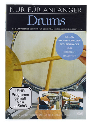 Music Sales Absolute Beginners Drums DVD