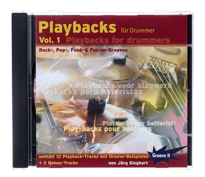 Tunesday Records Playbacks for Drummers Vol. 1