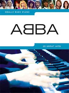 Music Sales ABBA Really Easy Piano