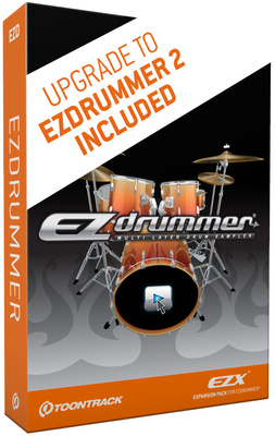 Toontrack EZ Drummer  Drum-Plugin fr VST/AU