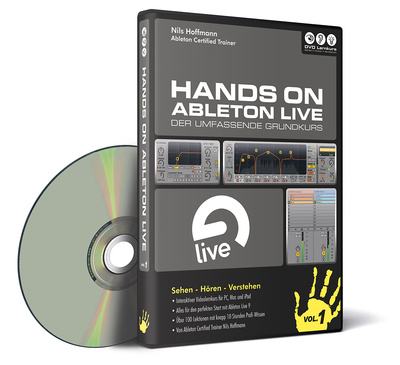DVD Lernkurs Tutorial Hands On Live Vol.1