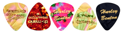 Harley Benton Guitarpick Medium 5 Pack