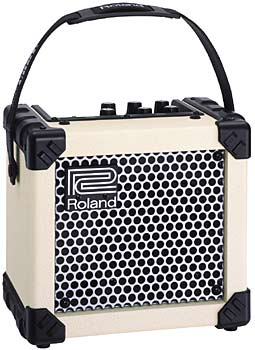 Roland Micro Cube Ltd White
