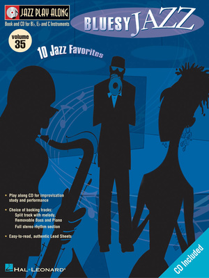 Hal Leonard Bluesy Jazz Jazz Play-Along