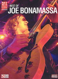 Music Sales Best of Joe Bonamassa