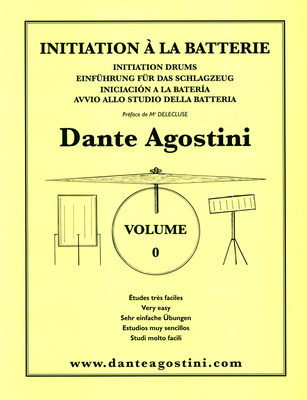 Dante Agostini Methode De Batterie Vol. 0