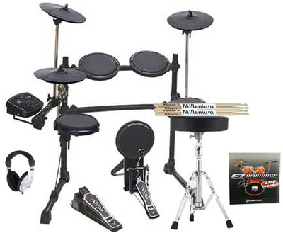 Millenium MPS-400 E-Drum Set Complete