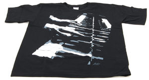 Rock You T-Shirt Piano Hands Lizenz S