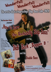 Bosworth Learn Rockabilly Slap Bass DVD