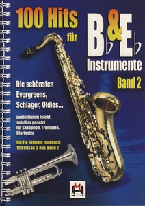 Hildner Musikverlag 100 Hits for Bb & Eb 2