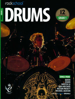 Music Sales Drums Rockschool Grade 1