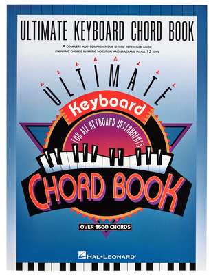 Hal Leonard Ultimate Keyboard Chord Book