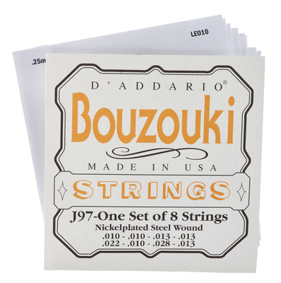 Daddario J97 Bouzouki Greek Set