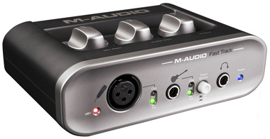M-Audio Fast Track USB Audio Interface