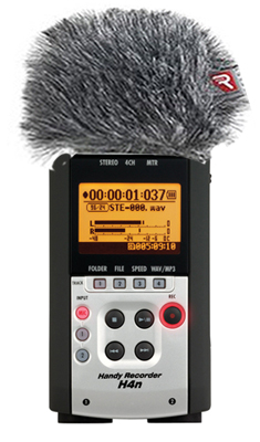 Zoom H-4N Rycote Bundle