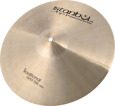 Istanbul Agop Traditional Pap.Thin Crash 15""