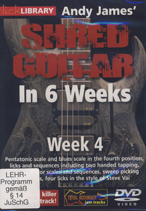 Music Sales Shred Guitar Week 4