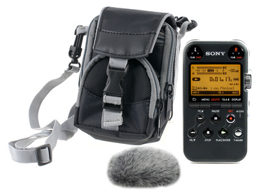 Sony PCM-M10 anthracite Bag-Bundle
