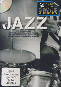 Wise Publications Play Along Drums Jazz