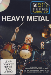 Wise Publications Play Along Drums Heavy Metal