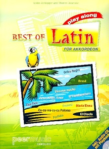 Peermusic Best Of Latin Akkordeon