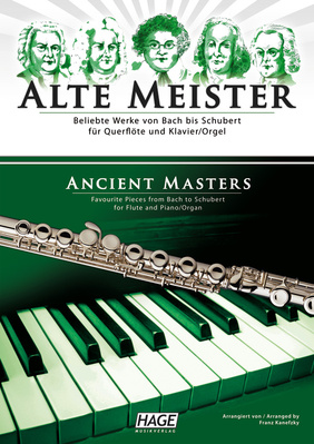 Hage Musikverlag Alte Meister Fl Piano
