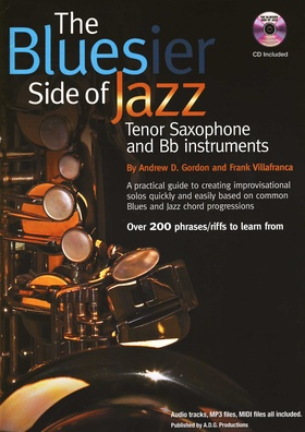 Music Sales Bluesier Side Of Jazz-Tenorsax