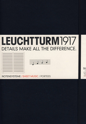 Leuchtturm 1917 Sheet Music Book