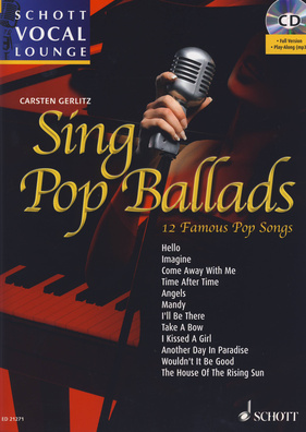 Schott Vocal Lounge Sing Pop Ballads