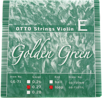 Otto Musica GG-71/27 E-String Loop-End