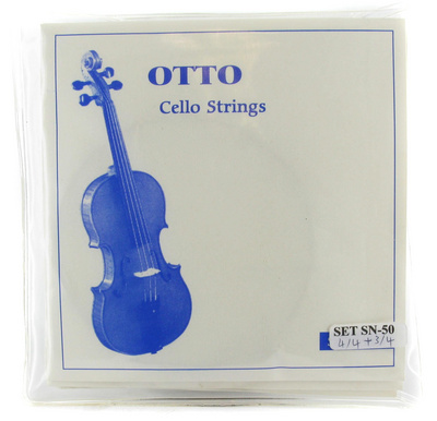 Otto Musica SN-50 Cello Strings 4/4 - 3/4