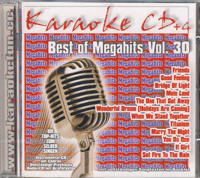 World of Karaoke Best Of Megahits Vol 30